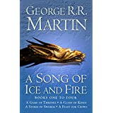 A Game of Thrones: The Story Continues Books 1-4: A Game of Thrones, A Clash of Kings, A Storm of Swords, A Feast for Crows (A Song of Ice and Fire) ~ George R. R. Martin