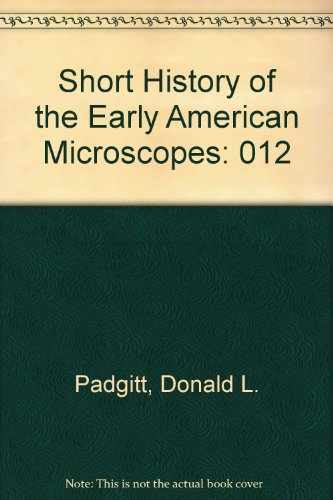 Short History Of The Early American Microscopes