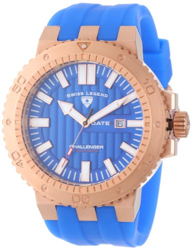 SWISS LEGEND Challenger 10126-RG-03 50 Rose Gold Case Anti-Reflective Sapphire Men's Quartz Watch