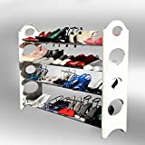 Last Day Sale- Best Shoe Rack Organizer Storage Bench -Lifetime Moneyback Guarantee -Store up to 20 Pairs in Your Closet Cabinet or Entryway -Easy to Assemble-No Tools Required-LIFETIME GUARANTEE!