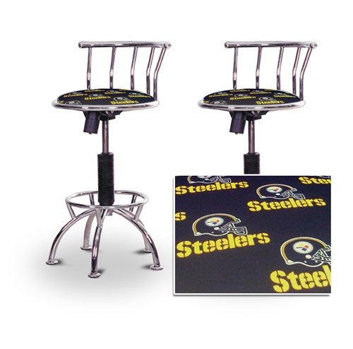 Remarkable Buy 2 24 29 Pittsburgh Steelers Seat Chrome Adjustable Uwap Interior Chair Design Uwaporg