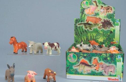 Simba NB-204720-0081 - Bauernhof-Softtiere, 1 Stück