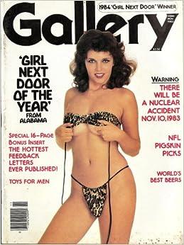 amazon   gallery magazine november 1983 girl next door
