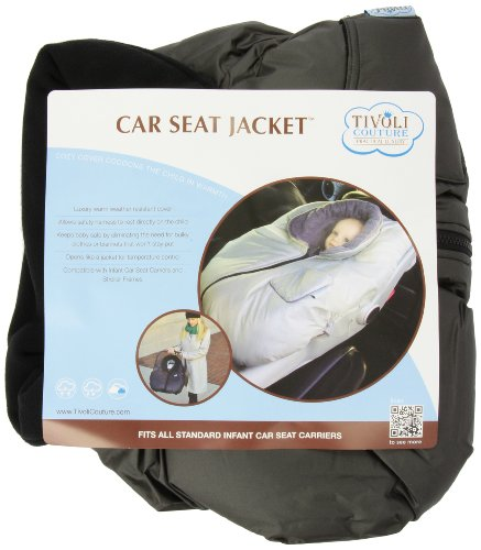 Tivoli Couture Car Seat Jacket Infant Bunting, London Gray