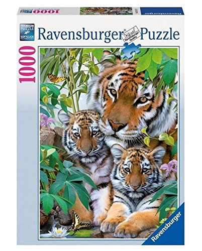 Ravenburger Puzzles Ravensburger Tiger Family, Multi Color