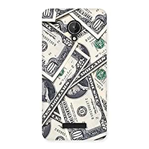 Bucks Lot Back Case Cover for Micromax Canvas Spark Q380