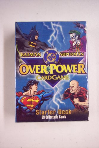 Batman/Superman DC Overpower Card Game Starter Deck - 1
