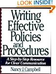 Writing Effective Policies and Proced...