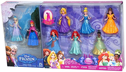 disney-princess-8-piece-magiclip-fashion-collection-gift-set-includes-frozens-elsa-anna-cinderella-t