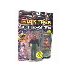 Star Trek Deep Space Nine Commander Benjamin Sisko 4 inch Action Figure