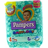 PAMPERS BABY DRY 4 MAXI 19PZ