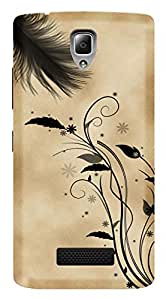 WOW Printed Designer Mobile Case Back Cover For Lenovo A2010