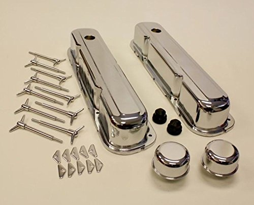 CHRYSLER MOPAR SMALL BLOCK ENGINE DRESS UP KIT 64-73 318-360, CHROME (318 Engine Block compare prices)