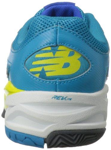 888098094657 - New Balance Women's WC996 Tennis Shoe,Blue,11 B US carousel main 1