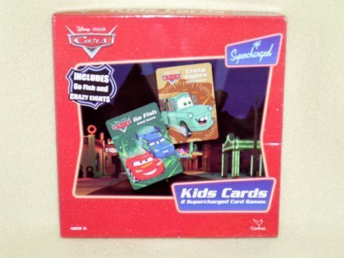 Disney Cars Kids Cards - 1