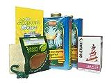 The Lemon Detox Mega Pack (Madal Bal Syrup 1lt x2 + Cayenne Pepper + Dr Stuarts Lax Plus Tea + 5