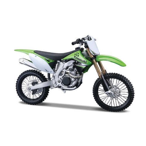 Maisto 1/12 Kawasaki KX 450F (AL Kit) (Cheap Mini Dirt Bikes compare prices)
