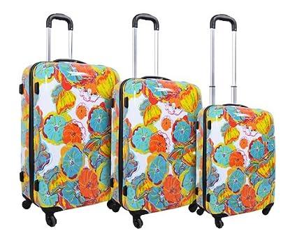 Hawaiian Luggage Sets Luggage Suitcase Set 4