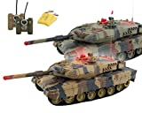 HMF 69050 RC Panzer Set integriertes Infrarot Kampfsystem 1:24