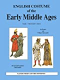 img - for English Costume of the Early Middle Ages book / textbook / text book