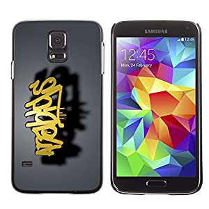 Cover Slim Back Shell for Samsung Galaxy S5 SM-G900 /graffiti/ STRONG