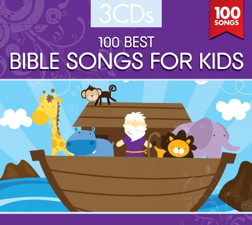100 BEST BIBLE SONGS FOR KIDS (3 CD Set) (Worship Music For Kids compare prices)