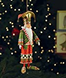 Patience Brewster Nutcracker Ornament - Krinkles Christmas Décor New 08-30788