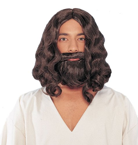 Biblical Wig And Beard - Brown