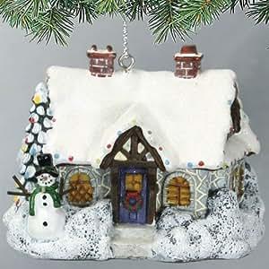 Amazon.com - Thomas Kinkade Ornament Christmas Evening ...