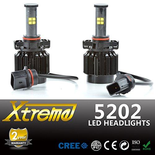 Xtreme LED Headlight Conversion Kit W/ 4.3k 5k 6k ...