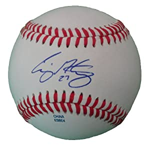 Craig Gentry Autographed Signed ROLB Baseball, Oakland Athletics, Texas Rangers,... by Southwestconnection-Memorabilia