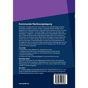 Kommunale Rechnungslegung: Konzeptionelle Überlegungen, Bilanzanalyse, Rating und Insolvenz (German