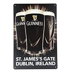 Yours Dec Metal Tin Sign Guinness Beer Garage Painting Retro Metal Signs Art House Cafe Restaurant Bar Iron Paintings