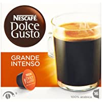 Nescaf� Dolce Grande Intenso Coffee Pods 16 Capsules (Pack of 3, Total 48 Capsules)