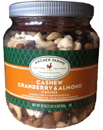 Archer Farms Cashew Cranberry & Almond Trail Mix – 30 Oz Jar
