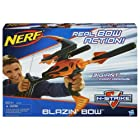 Nerf N-Strike Blazin' Bow Blaster CustomerPackageType: Standard Packaging Toy, Kids, Play, Children