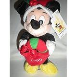 Walt Disney World 1999 Holiday Mickey Bean Bag Plush
