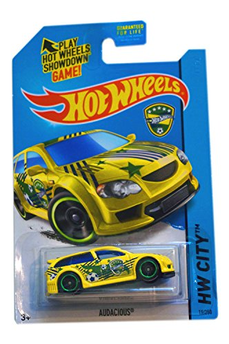 2014 Hot Wheels Hw City World Cup Soccer Brazil - Audacious - 1