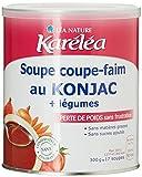 Karéléa soupe coupe-faim au Konjac et légumes Pot de 300g Lot de 2 - Best Reviews Guide