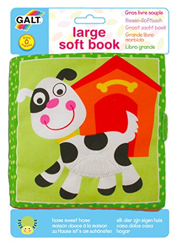 Galt Toys Inc First Years Large Home Sweet Home Soft Book