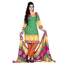 ARAJA FASHION COTTON UNSTICHED PRINTED DRESS MATERIAL