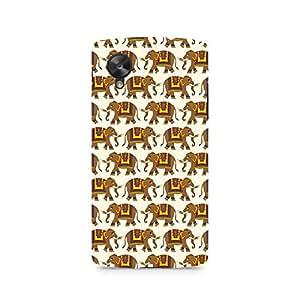 Ebby Enchanting India Elephant Artwork Premium Printed Case For LG Nexus 5