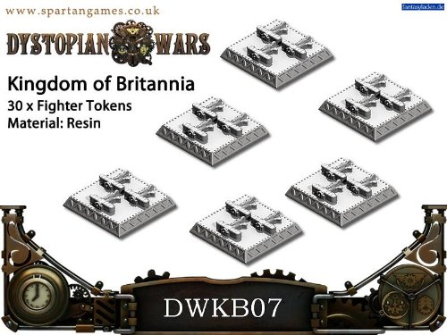 DWKB07 KINGDOM OF BRITANNIA: FIGHTERS x30