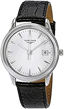 Longines White Dial Unisex Watch