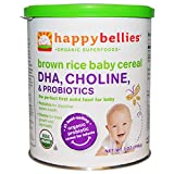 Happy Baby Happybellies Brown Rice Baby Cereal 6 ct 7 oz