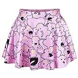 相性抜群レディースフレアスカート マルチカラー ファッション上品元気スカート 可愛いスカート 花柄プリント