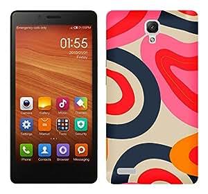 TrilMil Premium Design Back Cover Case For Xiaomi Redmi Note 4G