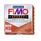STAEDTLER FIMO Effect Metallic Copper (27) FIMO Effect Polymer Modelling Moulding Clay Block Oven Bake Colour 56g (Pack Of 1)