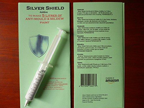 4-x-Moule-Argent-Shield-Additif-pour-peinture-5-litres-de-peinture
