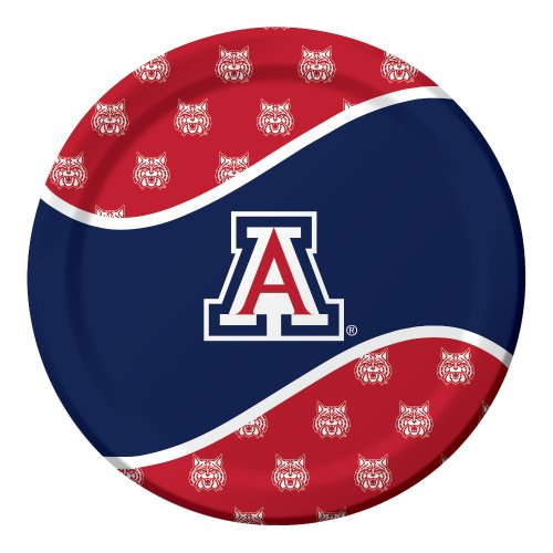 Creative Converting 8 Count Arizona Wildcats Paper Dinner Plates - 1